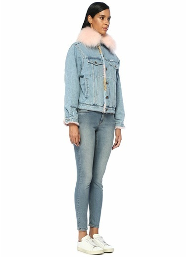 Forte Couture Ceket Mavi
